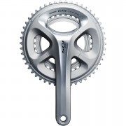Shimano 105 FC-5800 Compact Bicycle Chainset - Silver - 172.5mm - 50/34 - Silver