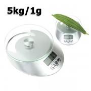 Kuchynská elektronická váha s LCD displejom 5kg / 1g