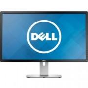 """Монитор 23.8"""" (60.45cm) Dell P2415Q (P2415Q-B), ULTRA HD LED, IPS панел, 6ms, 2 000 000:1, 300cd/m2, HDMI (MHL), miniDP, 4-портов USB3.0 хъб"""
