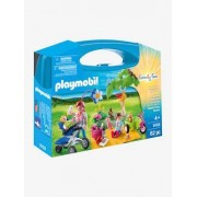 9103 Maleta de Piquenique em Família, da Playmobil verde medio liso com motivo