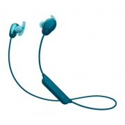 Sony - SP600N Sports Wireless Noise Cancelling In-Ear Headphones - Blue