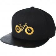 Bike Souls Keps Fat Bike Carbon/Gold Snapback - Bike Souls - Svart Snapback