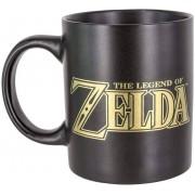 Paladone Taza The Legend of Zelda, cerámica Negro y Dorado