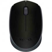 Безжична оптична мишка Logitech Wireless Mouse M171, Черна, 910-004424