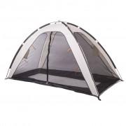 DERYAN Палатка за легло против комари, 200x90x110 см, кремава