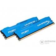HyperX Fury Blue DDR3 8GB (2x4GB) 1600MHz memorija kit (HX316C10FK2/8)