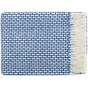 Patura lana merinos Valentini Bianco Rogojka densitate 385 g/m2 bleumarin 140 x 200 cm