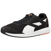 Puma Unisex FTR TF-Racer Black and White Mesh Running Shoes - 9 UK
