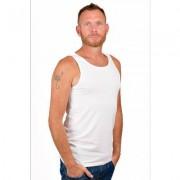RJ Bodywear Men Singlet White.