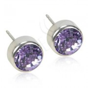 Blomdahl Titanium Bezel Violet - 5