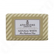 Atkinsons Fine Soaps Natural White Soap 125 G