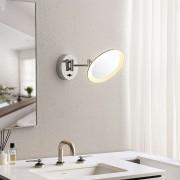 Lindby Fiana cosmetics mirror with LED light