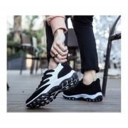 Zapatos Fashion-Cool Para Hombre-Negro Y Blanco