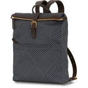 Mismo M/S Express Nylon Backpack Appear Jacquard/Dark Brown