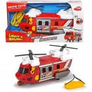 Dickie toys elicottero soccorso con luci e suoni
