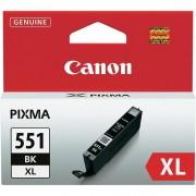 Canon ORIGINALE CANON CLI-551BK XL NERA 6443B001 PER CANON IP 7250 MG5450 MG6350 550XL CAPACITA' 11ML