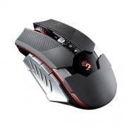 MOUSE Wireless gaming, activated, metal feet, Omron switch, senzor Avago A3050, black (RT5A)