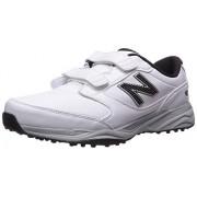New Balance Men's CB'49 Hook and Loop Closure Waterproof Spikeless Comfort Golf Shoe, White, 16 D D US
