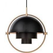 Gubi Multi-Lite hanglamp messing/zwart
