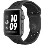 Apple Watch Nike+ Series 3 Gps + Cellular Cassa In Alluminio Grigio Siderale Con Cinturino Nike Sport Antracite/nero (38 Mm)