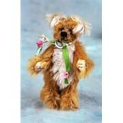 "World Of Miniature Bears 2.5"" Mohair Bear Jodie #981 Collectible Miniature"