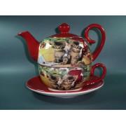 Tea for One Colectia Pisici Rosii