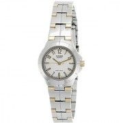 Casio Enticer Analog White Dial Womens Watch - Ltp-1242Sg-7Adf (A375)
