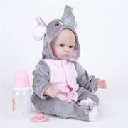 Reborn Baby Reborn Doll Lifelike Silicone Toy for Girls Sleeping Girl Doll for Newborn Kids Toy for Kids