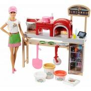 Mattel Barbie Fairytale. Barbie Pizza Chef Playset (FHR09)