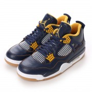 ナイキ NIKE Kinetics NIKE AIR JORDAN 4 RETRO (NAVY) メンズ