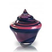 Grote Glazen Urn Annubis Heideglans (3.5 liter)