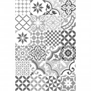 Floorart Tapis vinyle Adèle multicolore - 66x100 cm