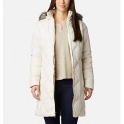 Columbia Doudoune Mi-Longue Icy Heights II - Femme Chalk XL