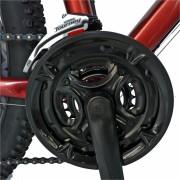 Bicicleta Mtb-Ht 29 Carpat Invictus C2957C cadru aluminiu transmisie culoare visiniualb