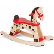 Spatiu de joaca Janod Rocking Horse With Side Protection