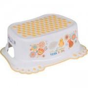 Детско стъпало за баня с гумички Folk - FL006 Tega Baby, 5907996441266