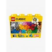 Lego 10698 Caixa de peças criativas deluxe, Lego Classic amarelo medio estampado