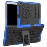 Capa Híbrida Antiderrapante para Samsung Galaxy Tab A 10.1 (2019) - Azul / Preto