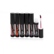 Kiss Beauty Flat Finish Pigment Lip Gloss Free Liner Rubber Band -Thum-B1