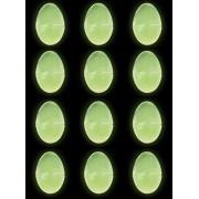 4E's Novelty Putty & Slime Easter Eggs, Glow in The Dark, Gooey Glowing Easter Eggs, 12 Pack, by 4eÌÄå̉ẨÃs Novelt