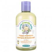 Sampon gel dus mandarine 0 - 3 ani - Earth Friendly Baby