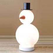 Snowman Bob decorative light, glass