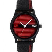 FANCYFASHION Designer Black Dial Analog TW-W01 Watches For Mens Boys Watch