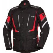 IXS X-Tour Powells-ST Chaqueta de la motocicleta Negro Blanco Rojo L