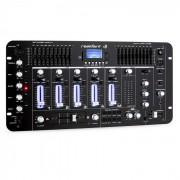 Resident DJ Kemistry 3 B - Mesa de mezclas 4 canales Bluetooth USB SD negro (DJMM2-KEMISTRY-3-B)