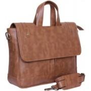 Attache 14 inch Laptop Messenger Bag(Brown)