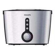 Philips Viva Collection HD2636 - Grille-pain - 2 tranche - noir/argent métallisé