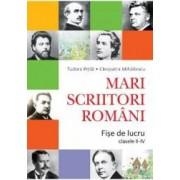 Mari Scriitori Romani Fise De Lucru Cls 2-4 - Tudora Pitila Cleopatra Mihailescu