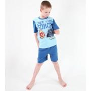 pyžamo chlapecké TV MANIA - Angry Birds / Star Wars - Turquise - SWAB 329