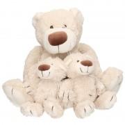 Happy Horse 3x Pluche mama en kinderen Baggio knuffelberen 40/22 cm knuffels